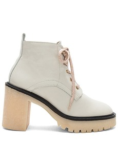 Free People Sydney Hiker Boot in Ivory. - size 36 (also in 38,40,41)