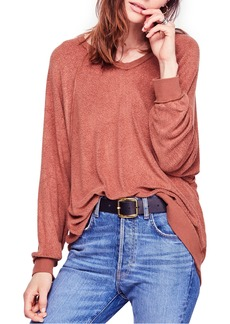 Free People Take it Off Pullover