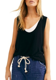 Free People Take the Plunge Tank Top
