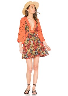 Free People Talulla Printed Mini Dress
