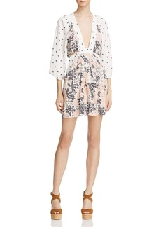 Free People Talulla Printed Tunic Dress