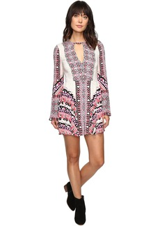Free People Teagan Printed Mini Dress