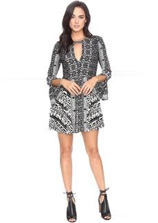 Teagan Printed Mini Dress