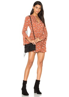 Free People Tegan Printed Dress