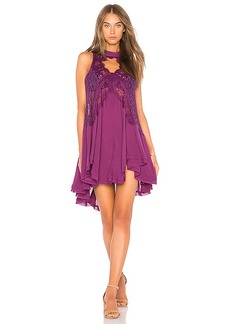 Free People Tell Tale Heart Sleeveless Tunic in Purple. - size L (also in M,S,XS)