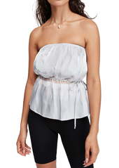 Free People Telling You Strapless Top