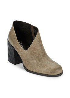 Free People Terrah Leather Ankle Booties