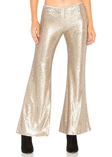 Free People The Minx Sequin Flare Pant