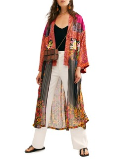 Free People The Young Love Long Jacket