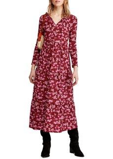 Free People Tiers of Joy Long Sleeve Prairie Dress