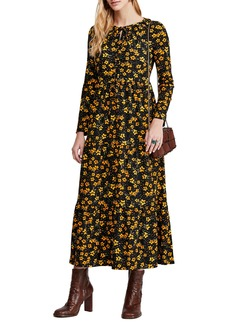 Free People Tiers of Joy Long Sleeve Prairie Dress