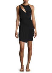 Free People Toast To That Cutout Mini Dress