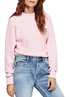 Free People Too Good Mock-Neck Sweater