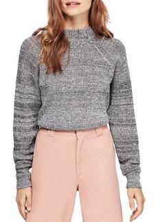 Free People Too Good Mock-Neck Sweater