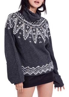 Free People Treasure Turtleneck Sweater