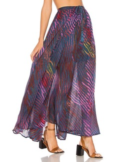 Free People True To You Maxi Skirt in Blue. - size M (also in XS)