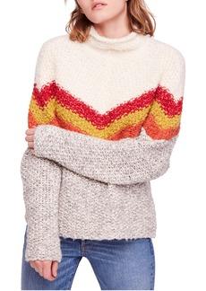 Free People Turn Around Tunic Sweater
