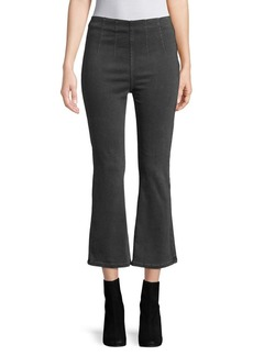 Free People Ultra High Pull-On Crop Boot Jeans