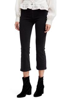 Free People Ultra High Waist Crop Bootcut Jeans