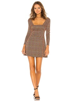 Free People Uptown Girl Mini Dress
