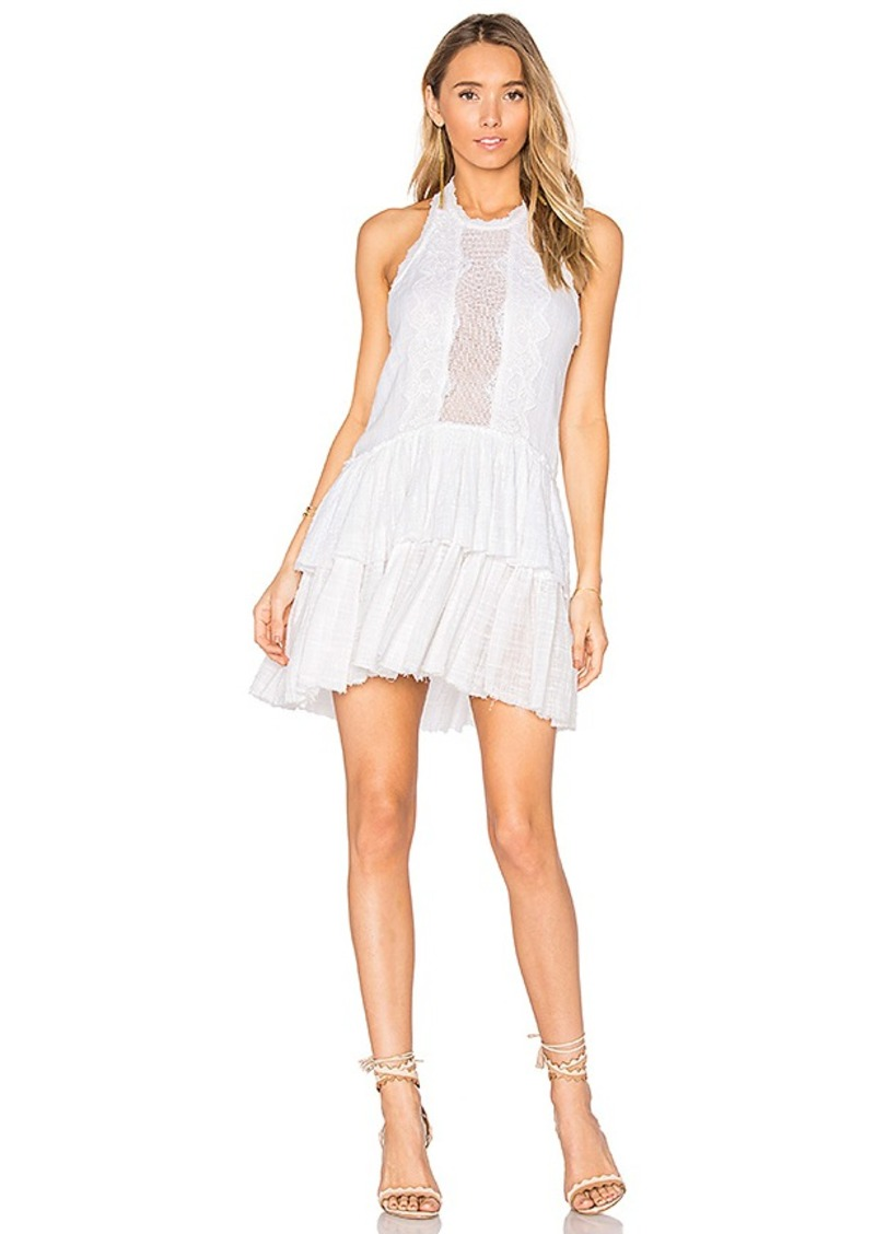 Be Your Baby Lace Mini Dress in Pink. - size M (also in L,S,XS) Free People