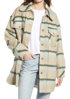 Free People Vienna Brushed Coat
