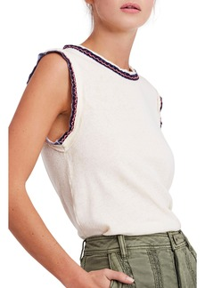 We the Free by Free People Vintage Ringer Muscle Tank