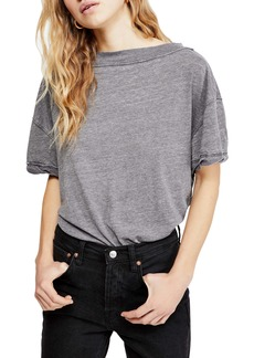 Free People Viola Open Back Tee