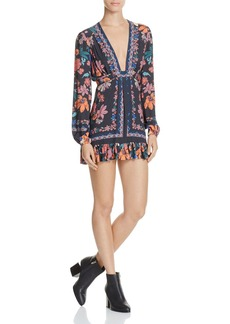 Free People Violet Hill Printed Tunic Dress