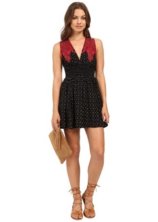 Free People Walking Through My Dreams Printed Mini Dress