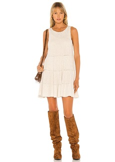 Free People Waterfall Ruffle Dress