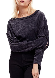 Free People We The Free Milan Velvet Top