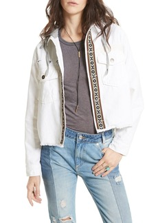 Free People Weekend Wanderer Military Jacket