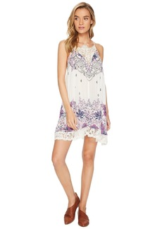 Free People Who's Sorry Now Printed Slip Dress
