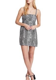Free People Wild Child Minidress