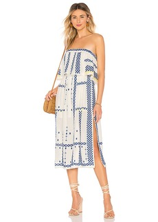 Free People Wild Romance Embroidered Dress