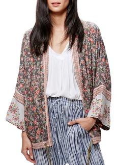 Free People Wildflower Kimono Jacket