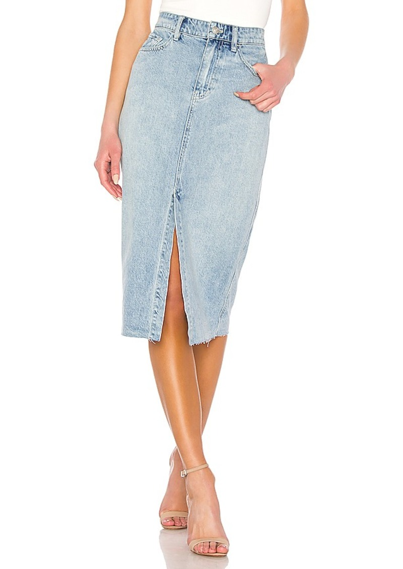 Free People Wilshire Denim Skirt