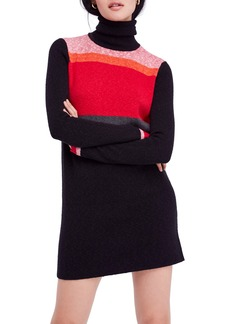 Free People Winter Break Sweater Dress