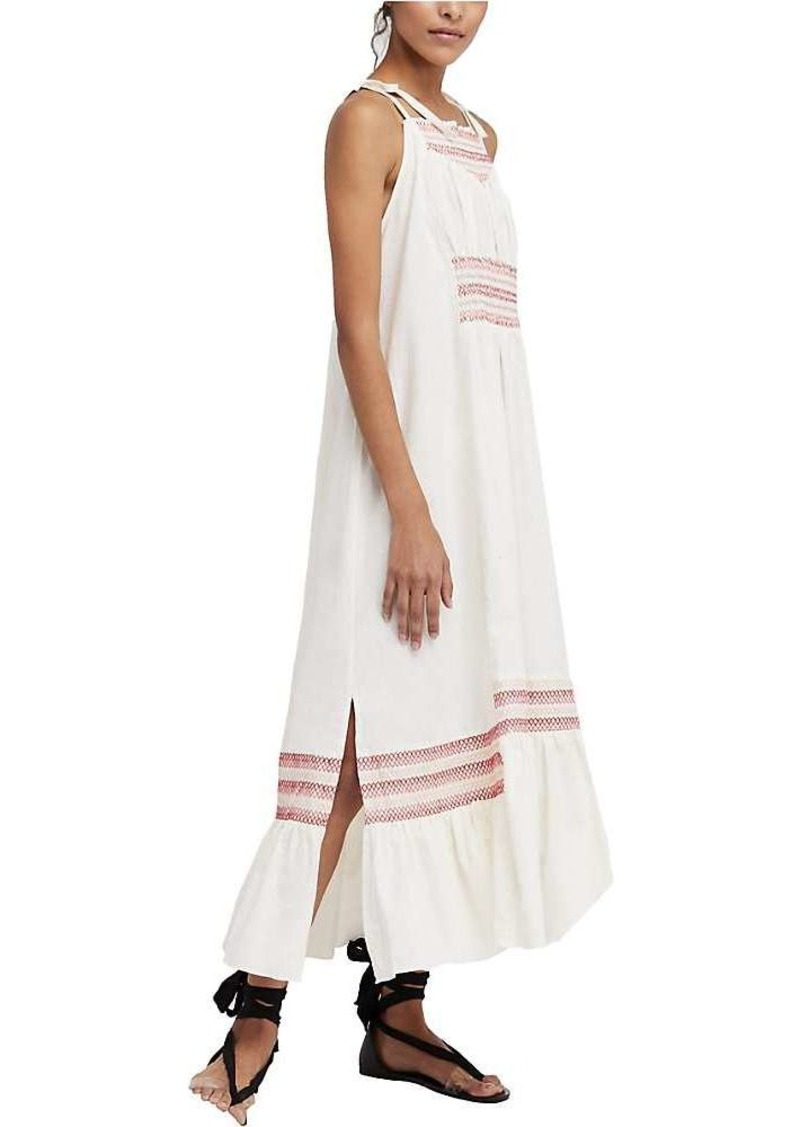 Free People Women's Another Love Smocked Midi Dress