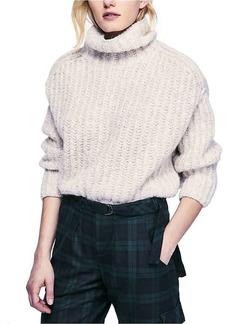 Free People Women's Fluffy Fox Sweater