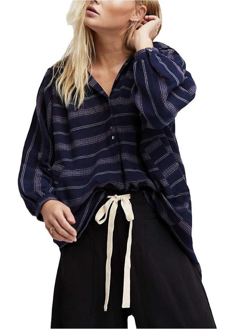 Free People Women's Rolling Clouds Pullover Top