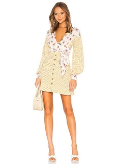 Free People Wonderland Mini Dress