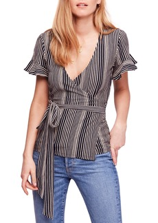 Free People Wrapped around My Finger Wrap Top