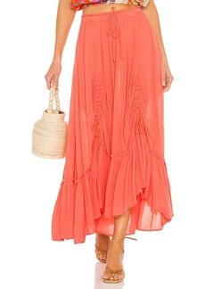 Free People X REVOLVE El Sol Maxi Convertible Skirt