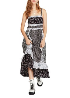 Free People Yesica Mixed Floral Maxi Dress