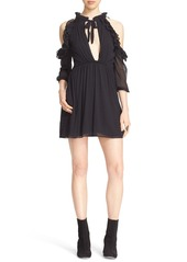Free People 'You & I' Cold Shoulder Minidress