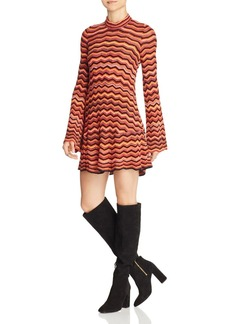 Free People Ziggy Striped Sweater Dress