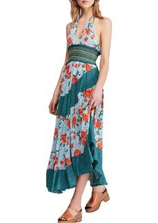 Free People Gabriella Halter Midi Dress