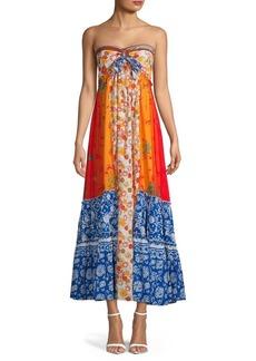 Free People Golden Dreams Maxi Dress